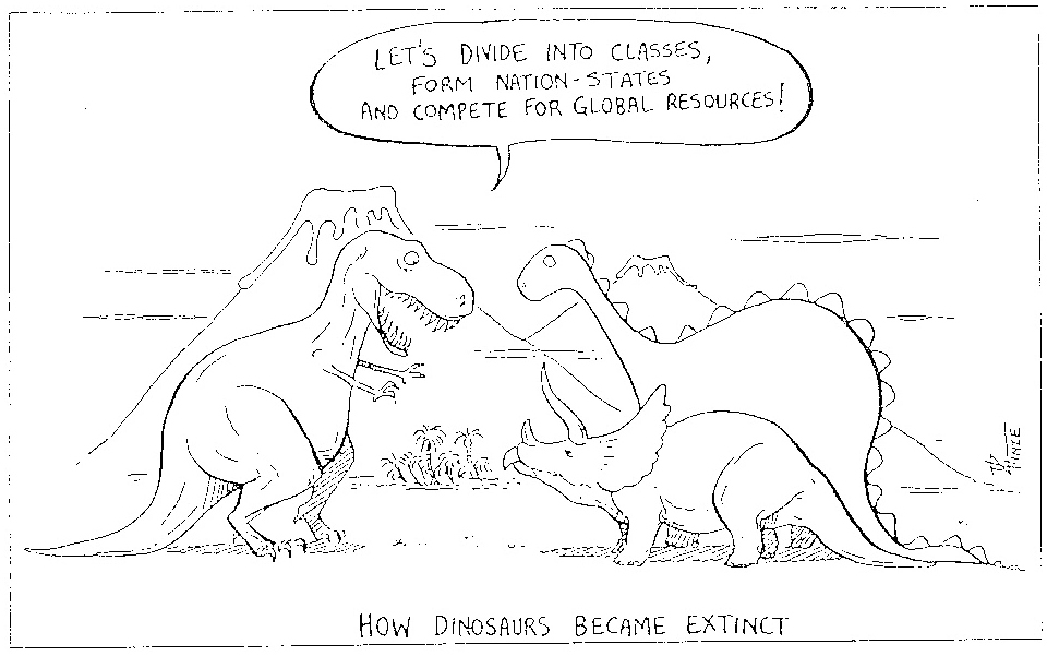 Pin Why Dinosaurs Became Extinct Cartoon On Pinterest