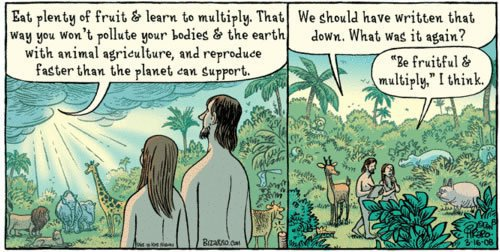 Cartoon guide to biodiversity loss XVII (1/6)