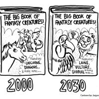 Cartoon guide to biodiversity loss XIX