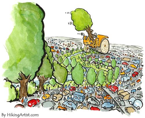 Cartoon guide to biodiversity loss XXIII   ConservationBytes.com