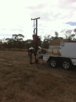 soil drilling rig
