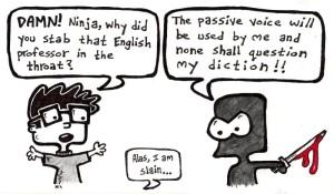 passive voice ninja