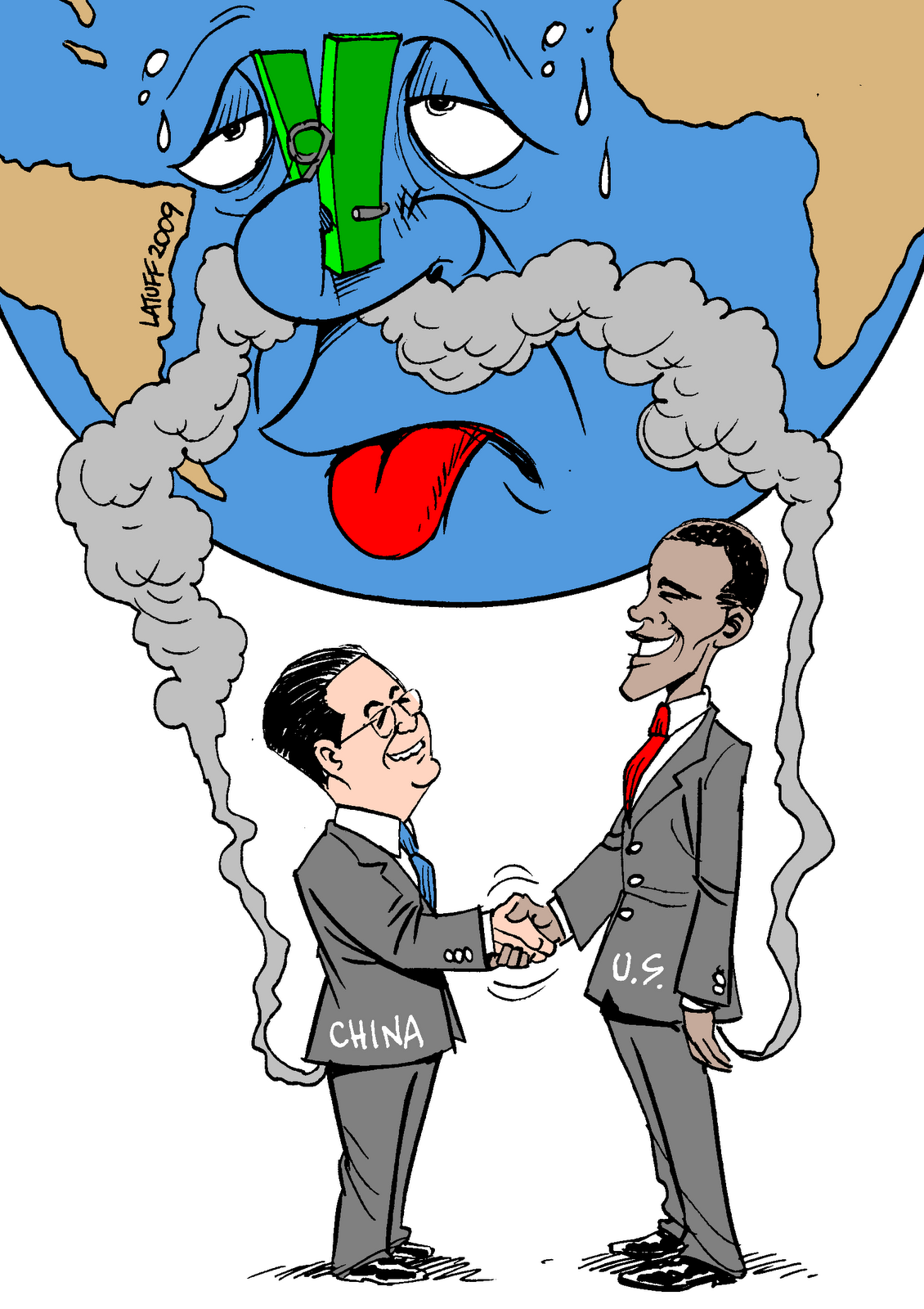 © Latuff 2009