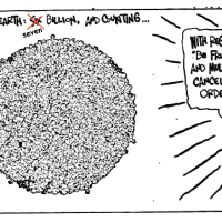 Cartoon guide to biodiversity loss XXVI