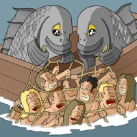 Cartoon guide to biodiversity loss XLIII