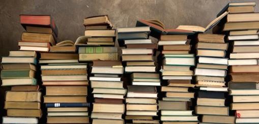 book-piles