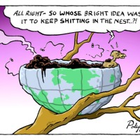 Cartoon guide to biodiversity loss LXV
